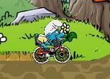 vélo, bicyclette, Schtroumpfs, cycle, sport