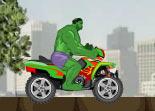 Hulk, quad, Bruce Banner, ATV, moto à 4 roues, héros