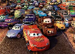 puzzle, Disney, Cars, observation, Flash McQueen