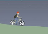 cycliste, bicyclette, bmx, sport, vélo, bicross