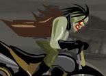 zombie, mort vivant, sans âme, ATV, quad, motocross, bécane, 2 roues, moto