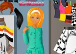 mode, habillage, look, fashion, fille, dress up