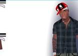 50 Cent, rappeur, habillage, star, dress up, fille