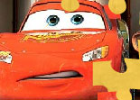 Flash McQueen, puzzle, observation, Cars