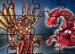 puzzle, Bakugan, observation