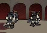 gladiateur, combat d'arène