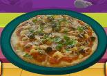 cuisine, pizza, pizzaïolo, recette, fille, pizzeria