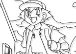 Pokemon Forever - Online Coloring Page