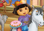 Dora, puzzle, observation