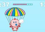 bébé, parachute, baby, nourrisson
