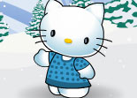 Hello Kitty Winter Dress Up