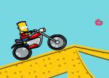 Bart Simpson, moto, bécane, 2 roues