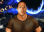 catch, catcheur, maquillage, make up, star, Dwayne Johnson