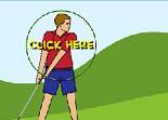 golf, swing, golfeur, sport