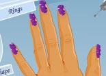 manucure, beauté, fille, nails, ongles