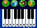 musique, animaux, piano, chat, oiseau, chien, poisson
