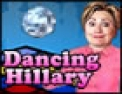Hilary Clinton, rigolo, danse, boite de nuit
