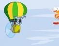 ballon dirigeable, crevette, pilote, pilotage, koala