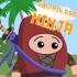 plateforme, saut, obstacles, ninja, aventure, armes, flèches, épées