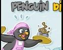 métier, serveuse, gestion, animaux, pingouins
