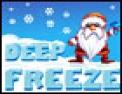 plateforme, Père Noël, hiver, Noël