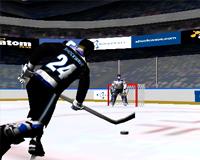 sport, hockey sur glace, tir aux buts