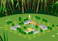 labyrinthe, réflexion, passage