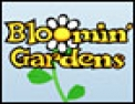 puzzle, série de 5, jardin, fleurs, plantes
