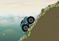 monster truck, tout-terrain, voiture