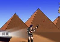 tir, tireur, tirer, action, arme, lara croft, Osiris, aventurier, aventurière, pyramide, Tomb Raider, Egypte