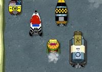 voiture, livreur, conduite, Bob l'éponge, véhicule, course en ville, spongebob