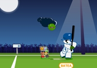 Baseball, batteur, home run, tirs, balle, batte, sport, virus