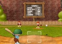 Baseball, batteur, home run, tirs, balle, batte, sport, strike