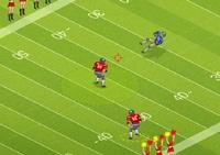 Football américain, sport,  ballon oval, quaterback