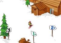 Snowboard, sport d'hiver, piste, freeride, glisse