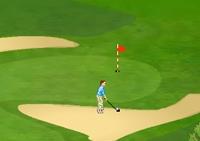 Golf, club, balle, green, trous, swing, golfeur, sport