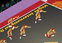 Balle, dodgeball, équipe, sport, ballon
