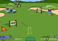 Golf, club, green, golfeur, caddy, balle
