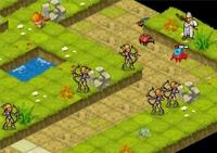 stratégie, tower défense, chevaliers